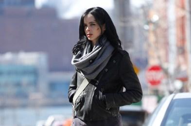 'AKA Jessica Jones' Netflix TV series set, New York, America - 09 Mar 2015