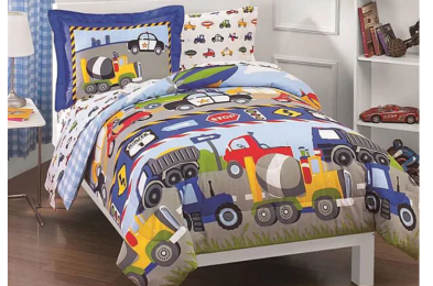kids-sheets-trucks-tractors