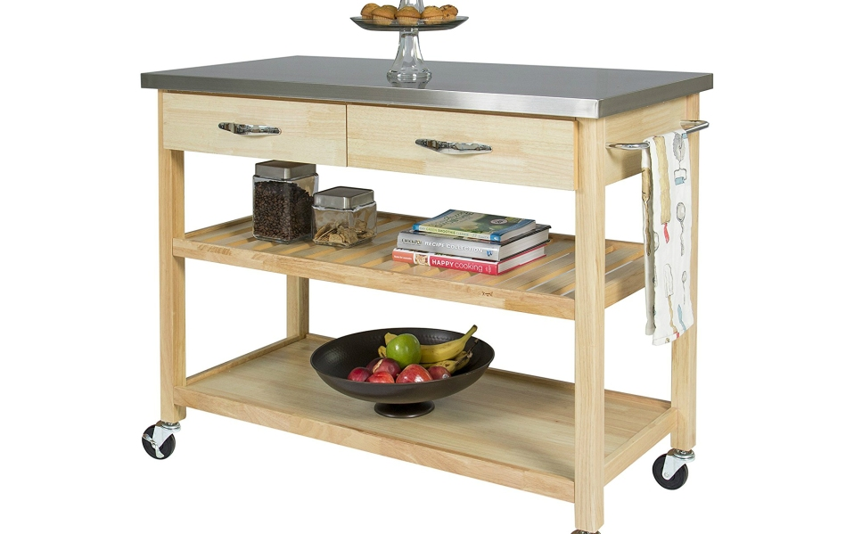 Butcher Block Kitchen Carts: The 5