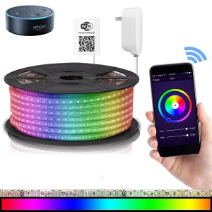LED Strip Lights Compatible with Alexa,