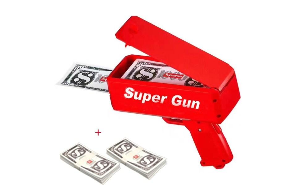 Money Gun Make it Rain: Low-Priced