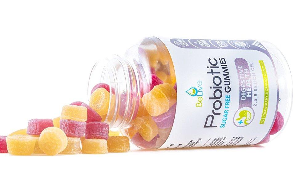 Probiotic Sugar-Free Gummies by BeLive