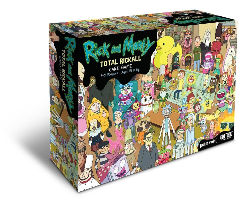 rick and morty card game