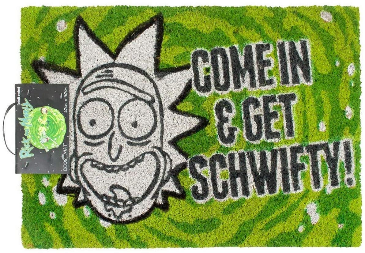 Rick and Morty welcome mat