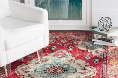 vintage-inspired rugs
