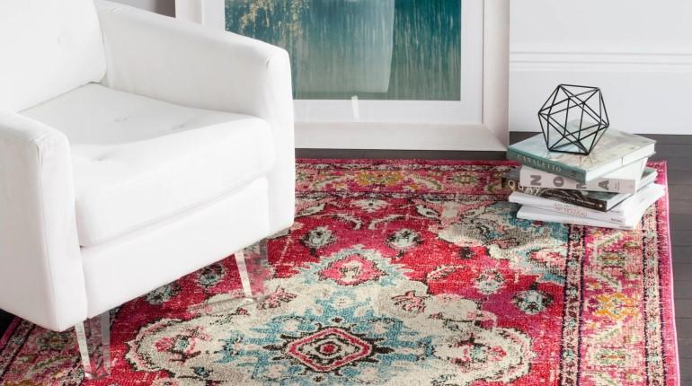 vintage-inspired rug overstock