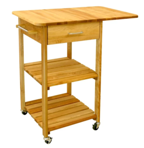 Wood Kitchen Cart Butcher Block