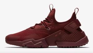 Red Sneakers Nike Huarache