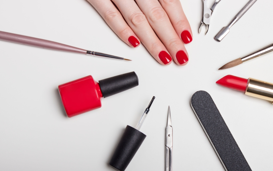 how to manicure pedicure at home