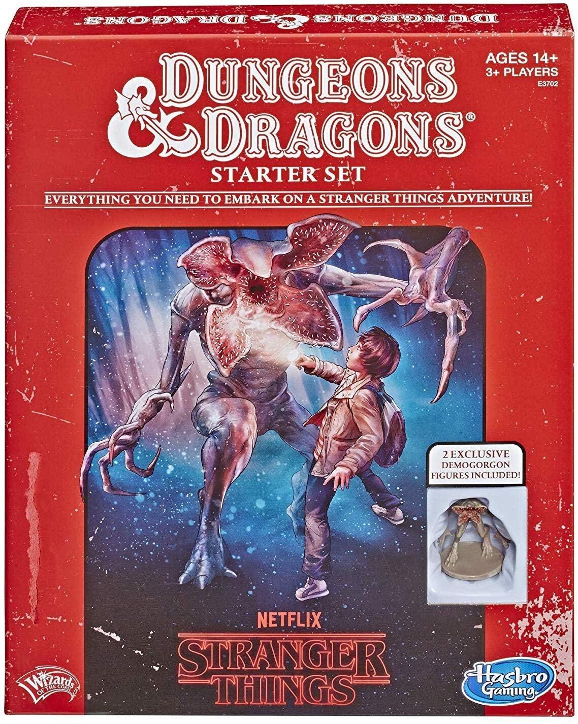 Stranger Things Dungeons & Dragons set