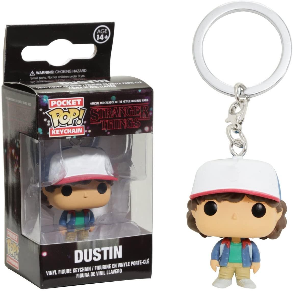 Stranger Things Dustin keychain