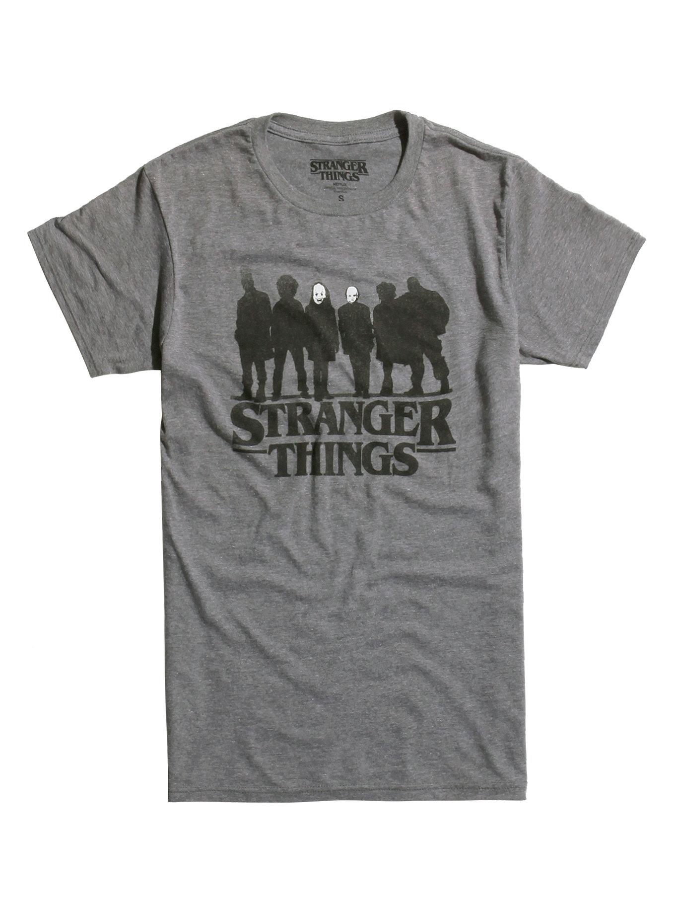 stranger things silhouette t