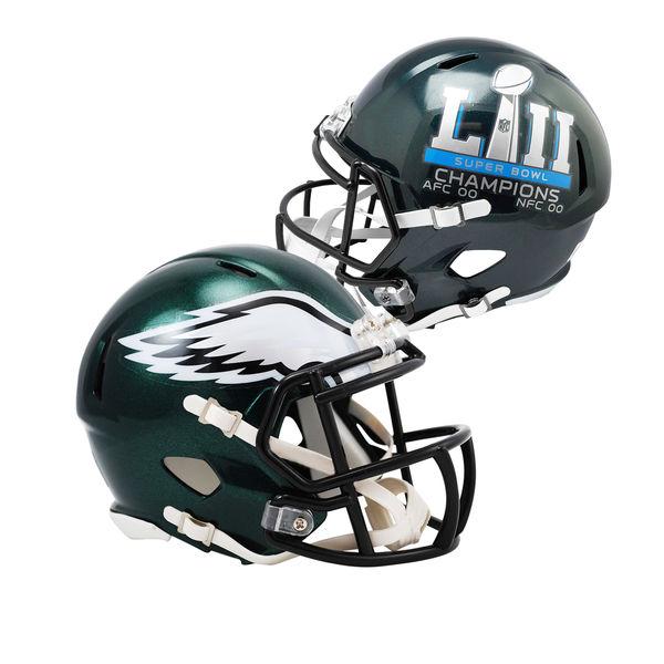 philadelphia eagles super bowl champions helmet