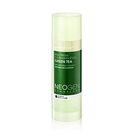 travel beauty best skin hair care products green tea neogen real fresh cleansing stick