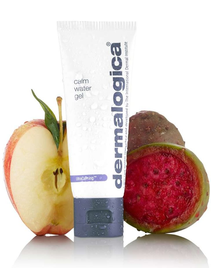 travel beauty best skin hair care products dermalogica calm water gel