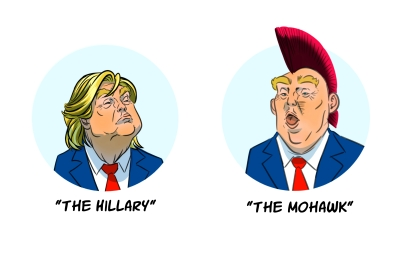 Donald Trump Hair Alternative Styles