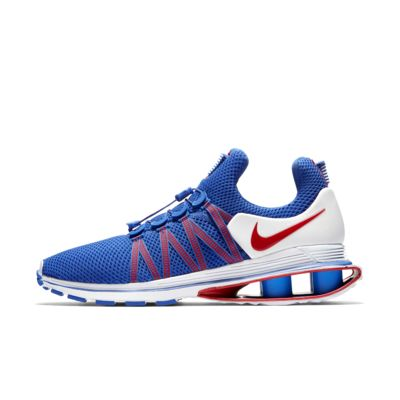 USA shoes red white blue sneakers olympics nike gravity shox