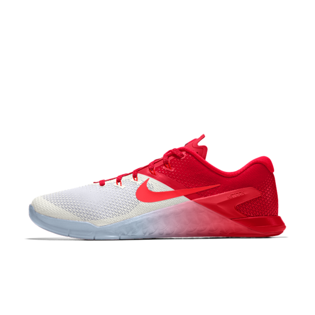 USA shoes red white blue sneakers olympics nike metcon 4 id