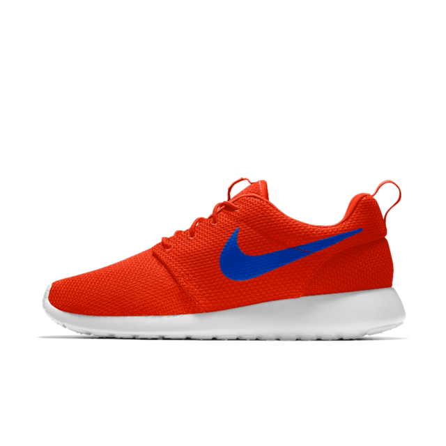 USA shoes red white blue sneakers olympics nike roshe one essential id