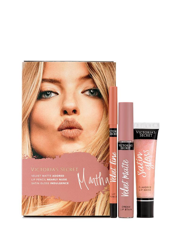 victoria secret online best things not lingerie lip lipstick kit