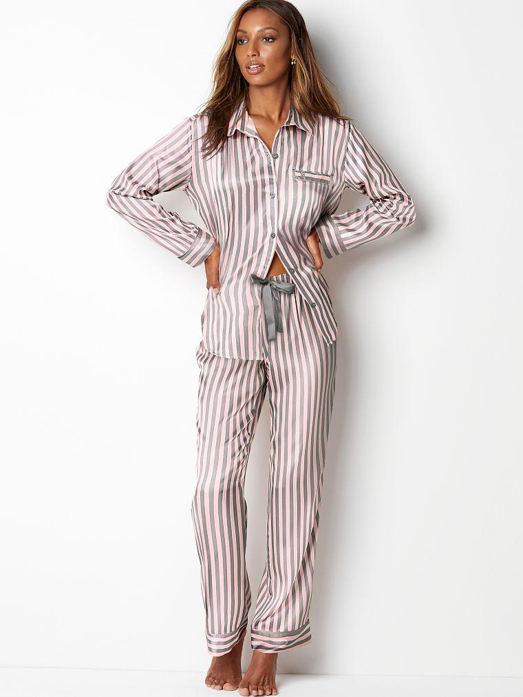 victoria secret online best things not lingerie silk pajamas