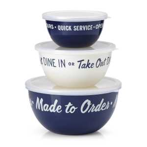 Blue Bowl Set Kate Spade