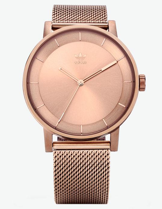 adidas rose gold watch sale