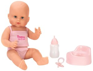 Wet Bath Baby Doll Corolle