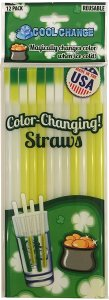 Party Straws Color Changing