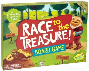 Board Game Race to the Treasure