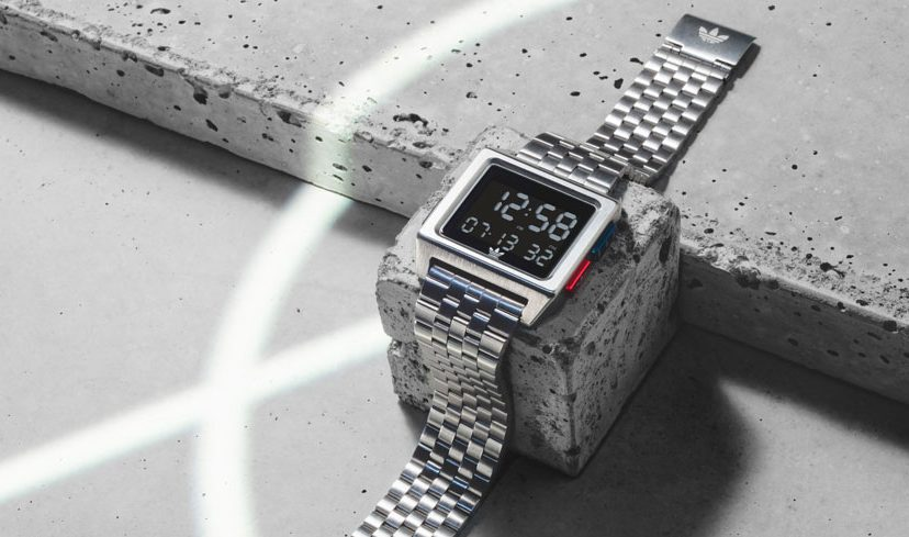 ADIDAS ARCHIVE M1 Silver Watch