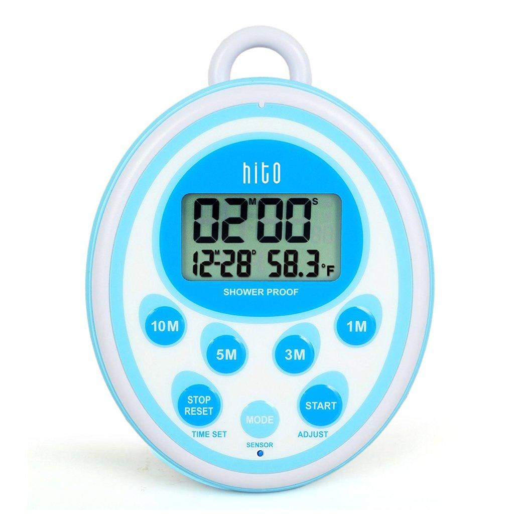 best shower bathroom clock timer