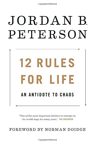best books to read in 2018 Amazon 12 rules for life an antidote to chaos jordan b. peterson