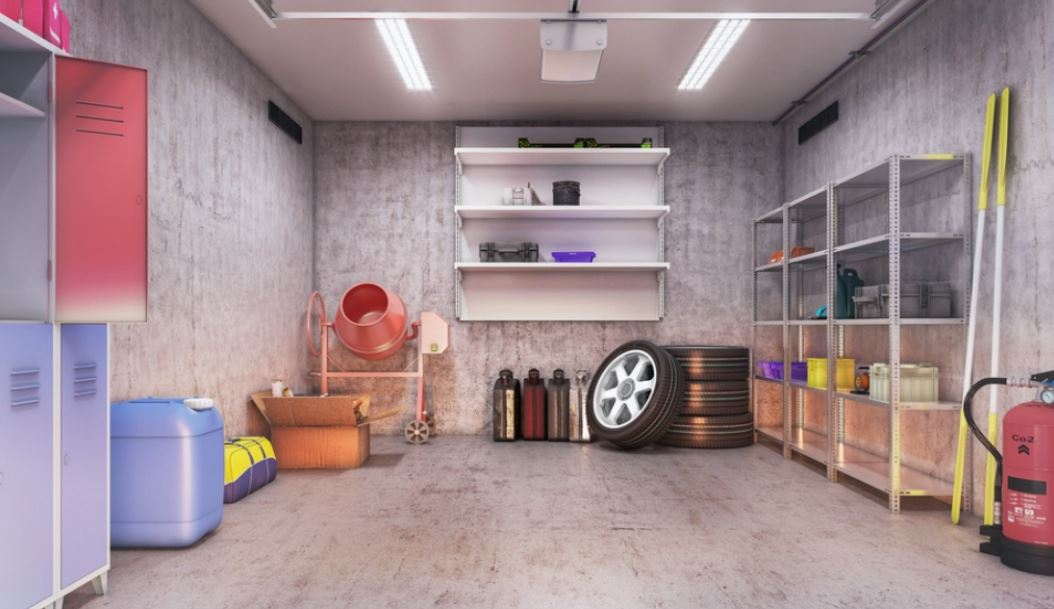 how to clean garages