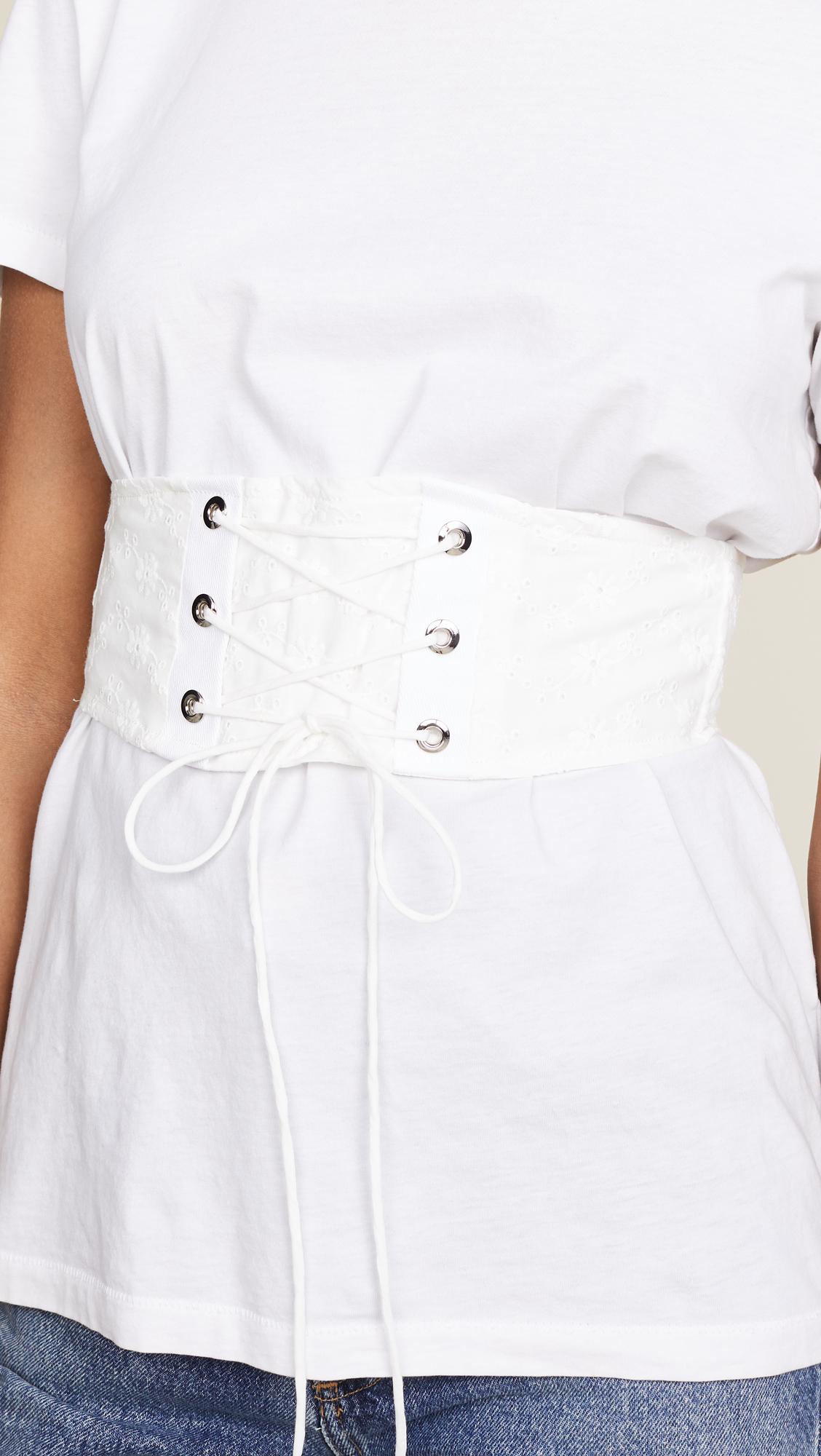corset belt Shopbop modern fashion Love Lemons