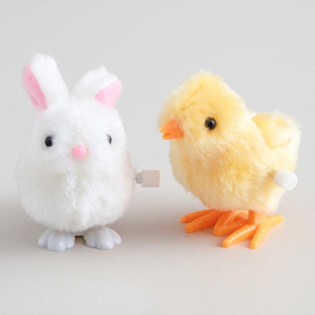 Easter basket ideas best new things bunny 2018 chick bunny wind up toys