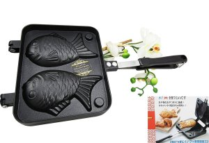 Fish-Shaped Hot Dessert Waffle Cake Maker Pan