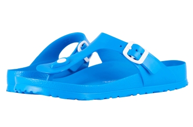 Gizeh blue birkenstocks