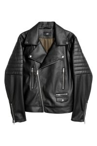 Biker Jacket Men's Faux Leather