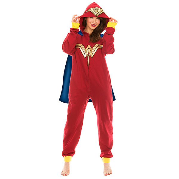 Wonder Woman caped onesie