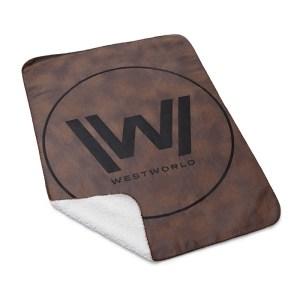 Westworld Logo Blanket