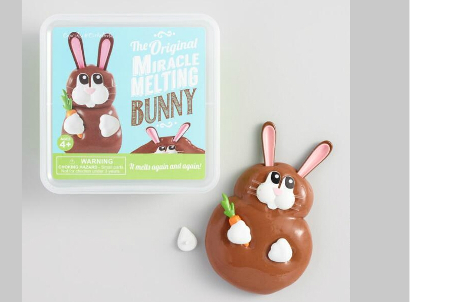 Reusable Melting Bunny Toy
