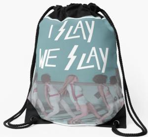 Drawstring bag I Slay