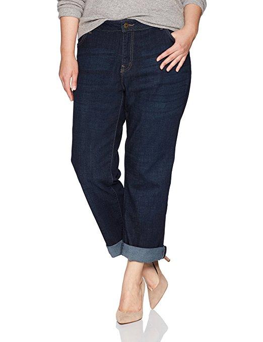 plus size jeans women best selling pairs amazon lee curvy fit ruby boyfriend