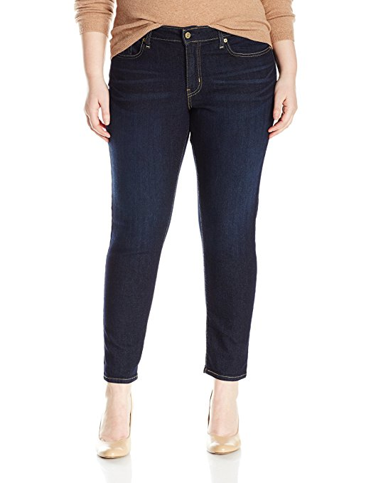 plus size jeans women best selling pairs amazon signature by levi strauss skinny