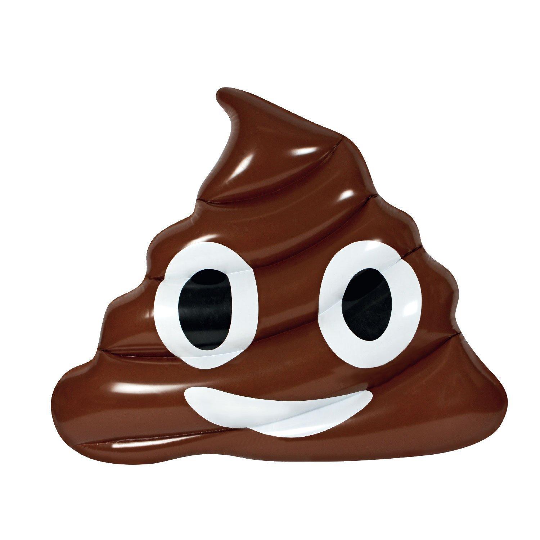 poop emoji float