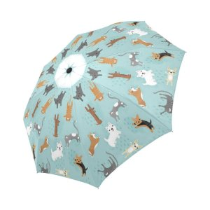 Raining Cats and Dogs Umbrella by Wece