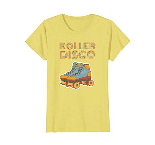 vintage t shirts best retro tees women Amazon roller disco