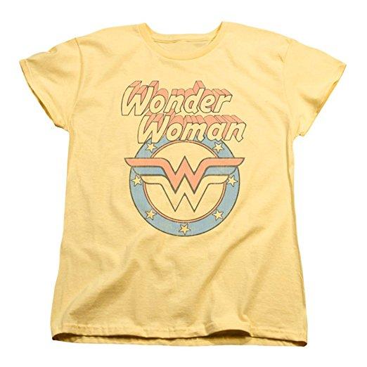 vintage t shirts best retro tees women Amazon wonder woman