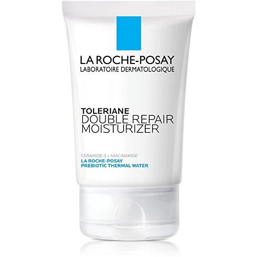 probiotics prebiotics use on skin eczema treatment La Roche-Posay Toleriane Double Repair Face Moisturizer